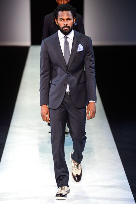 I totally get it!!! Giorgio Armani Mens S/S 2014 Collection