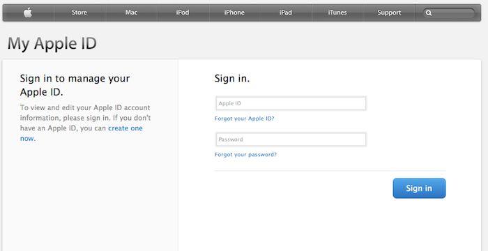 Apple Email Login