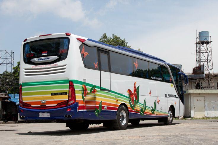 "Dengan karoseri terbaik 2015, Bus Suryaputra Siap melayani wisata Anda. ""We Make Your Way"""