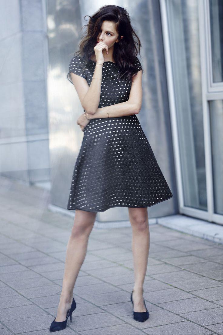 Polkadots! Or not??? Rhonda Dress bij Steps