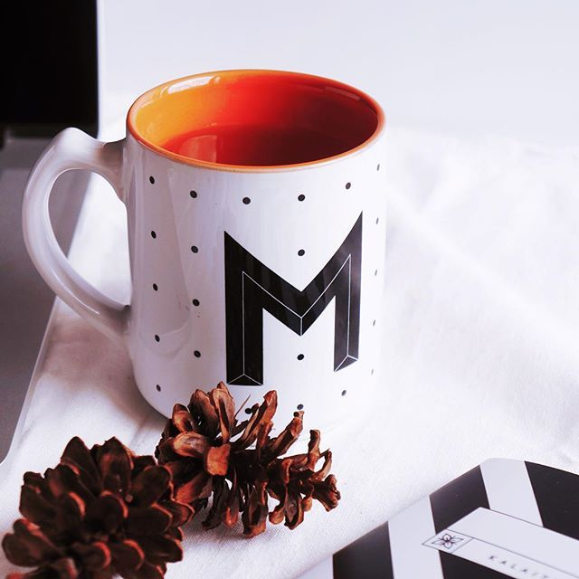 M for Monday! Have a great week ahead   Kalaitu Custom Mug initial is available with colorful inner. -Diameter: 8cm -Height: 9.5cm -Ceramic porcelain -Capacity: 350ml  Kalaitu mug is made by order. So we'll do weekly pre-order start on Monday, close on Friday 8pm, shipment on the next Wednesday.  Grab yours now  Line: kalaitu WA: +62 878 7735 7018 Email: kalaitu.goods@gmail.com  #kalaitumug