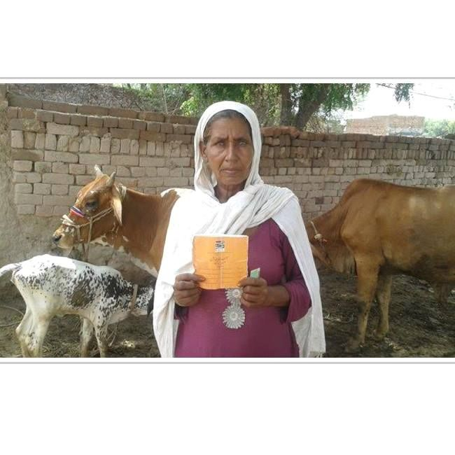 This is Irshad, a 50-year-old married woman living in Pakistan. She received a micro loan and with its help, she will purchase a second buffalo for her milk selling business. This will allow her to cover her family's daily expenses.  #SocialSelling #SocialChange #ChangingTheWorld