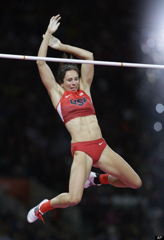 Top women pole vaulter consider