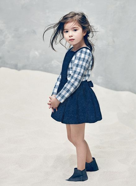 Nellystella Ella Dress in Navy Wool - N15F012