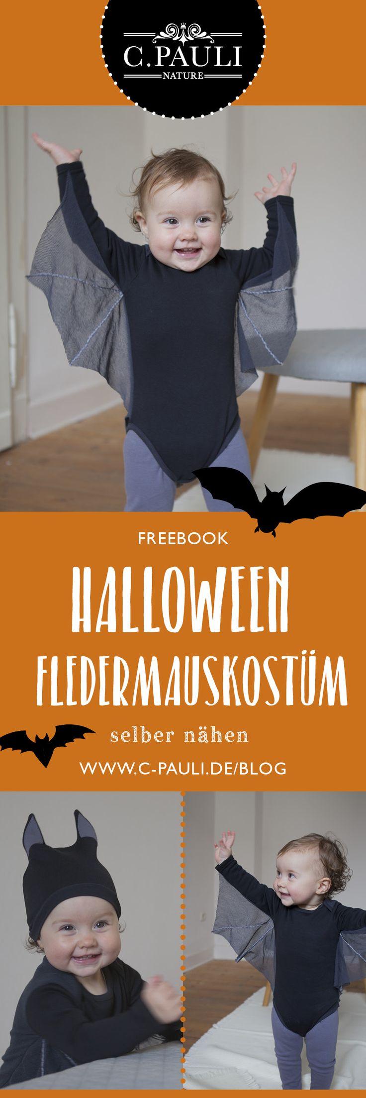 Baby-Halloweenkostüm Fledermaus – Schnittmuster und Tutorial | C.Pauli Nature Blog