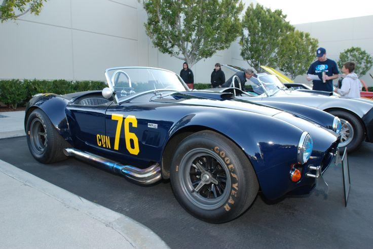 1966 427 Shelby Cobra_Guardsman Blue_Gumball Rally movie car_Cars&Coffee/Irvine_3/3/12