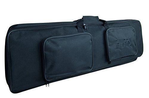 SWISS ARMS Housse de protection pour fusils 100 x 30 x 8: Idéale pour réplique longue type fusils d'assaut 2 poches pour chargeurs ou…