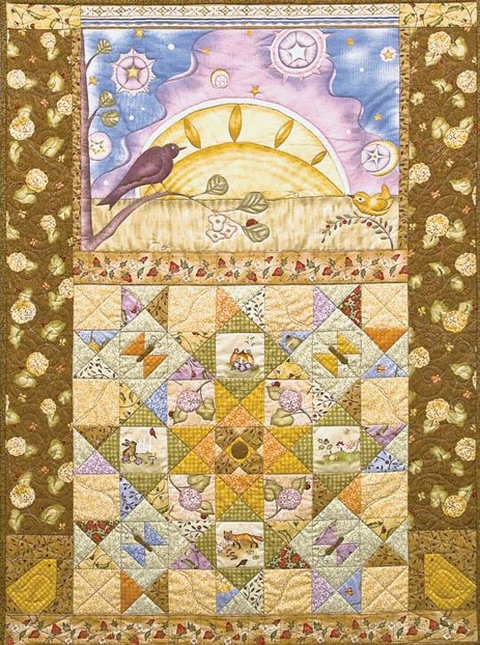 23 best Pretty Panel Quilts images on Pinterest | Quilt blocks ... : fabric panel quilt patterns - Adamdwight.com