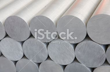 aluminium bars Royalty Free Stock Photo