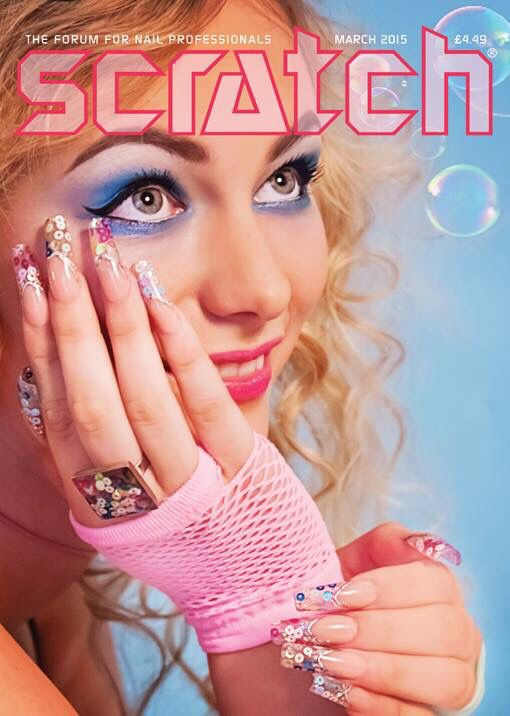 191 best my work x images on pinterest nail ideas nail designs my scratch front cover using nail team disco rings prinsesfo Images