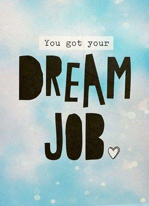 Dream job! #Hallmark #HallmarkNL #dreamjob #quotefulness