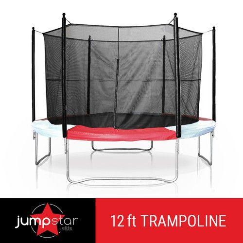 $429 (was $649) 12FT JUMPSTAR TRAMPOLINE | ELITE FITNESS NZ @ Elite Fitness NZ - Bargain Bro