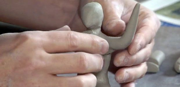 Pinner says - A good video to use with elementary students to do human figures in clay. My fourth grade students did very well with this, with me pausing the video after each part to add more instruction. The examples at the beginning and end of the video helped give my students more ideas.