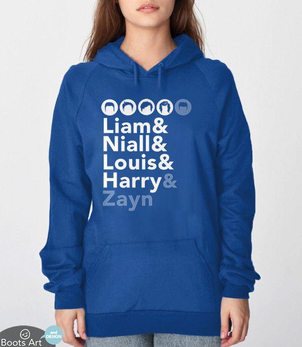One Direction Fan Shirt (Hoodie)