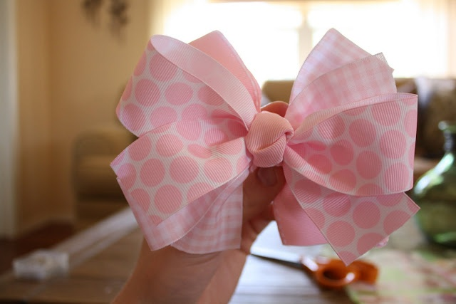 Twenty Three Oh One: The Hair Bow.  Or a bow for  package or wreath or tree or