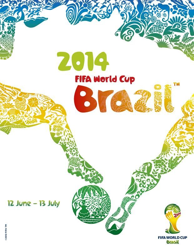 Brazil unveils official poster for 2014 World Cup