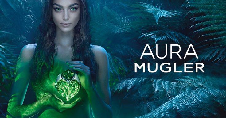 Demandez vos échantillons gratuits du parfum Aura de Mugler