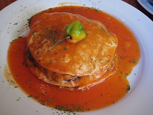 Pan de cazón. Receta de Campeche, México