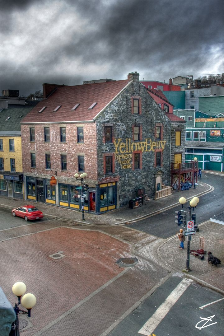 Yellow Belly Pub, St. John's Newfoundland