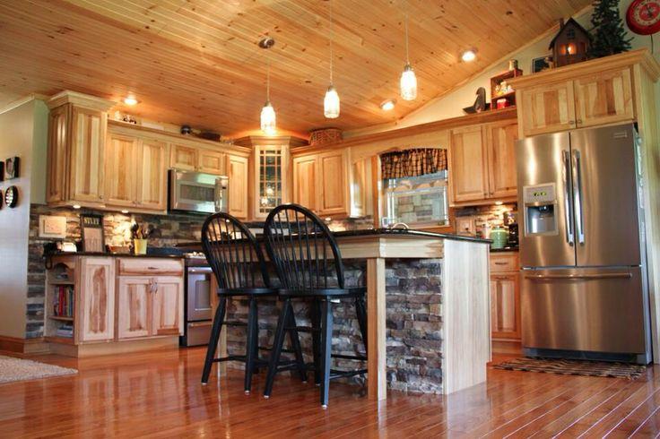 Cherry Oak Kitchen Cabinets