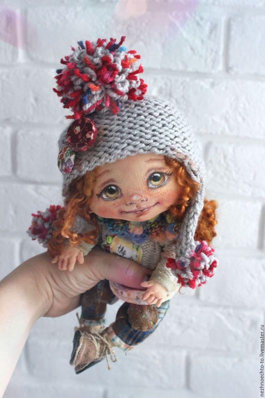 Коллекционные куклы ручной работы. Ярмарка Мастеров - ручная работа. Купить Наташка. Handmade. Кукла, текстиль