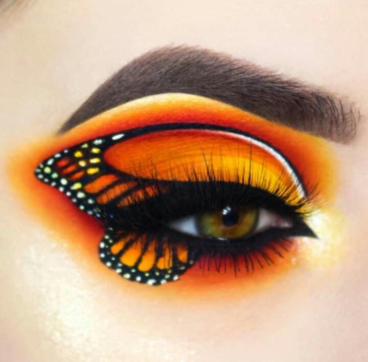Eye Makeup Giuliannaa Is Giving Us Butterflies With This Look Created With Buttercupcake Love And Flame Butterfly Makeup Artistry Makeup Eye Makeup Art