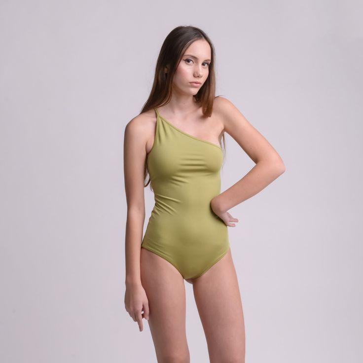 TWOSIDE LIME&PAPAYA bodysuit by bodysuits on Etsy