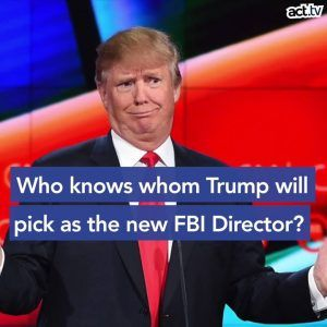FBI director is one of the most coveted jobs in law enforcement but Trump is having trouble finding #news #alternativenews
