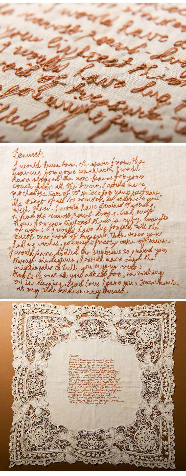 Stitch Love Letter   by Rosalind Wyatt