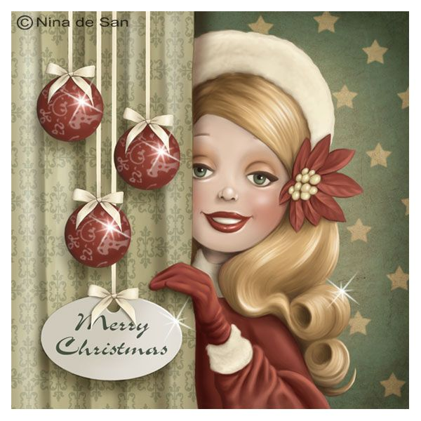 Nina de San http://www.pinterest.com/brendajmullins/~christmas-art~/