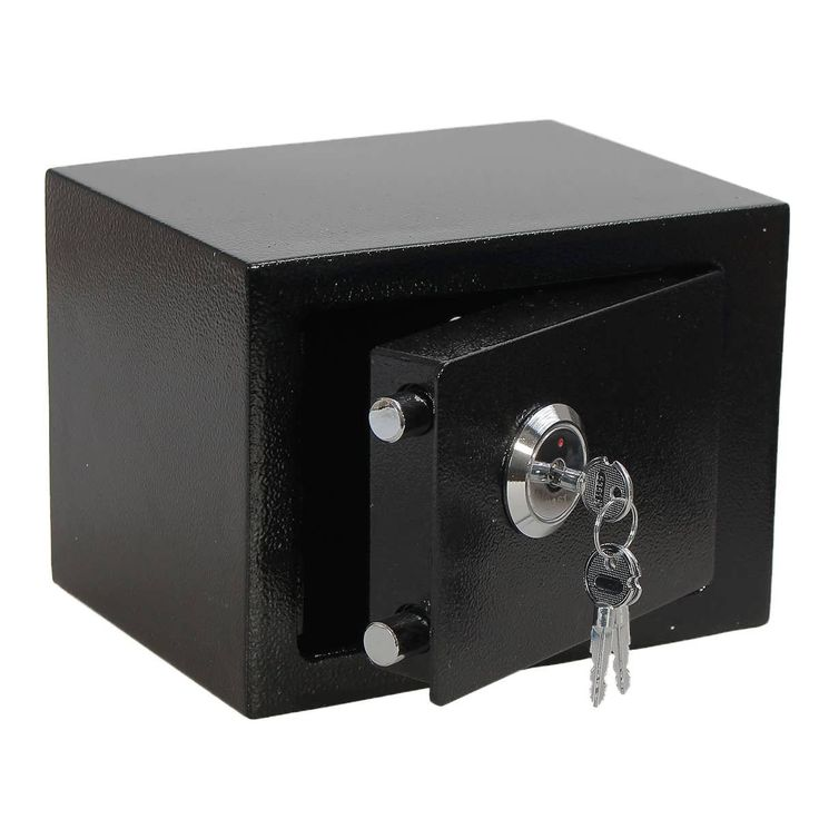 Iron Steel Black Key Operated Safe Box Money Cash Strong Steel for Home Office  Worldwide delivery. Original best quality product for 70% of it's real price. Buying this product is extra profitable, because we have good production source. 1 day products dispatch from warehouse. Fast &...