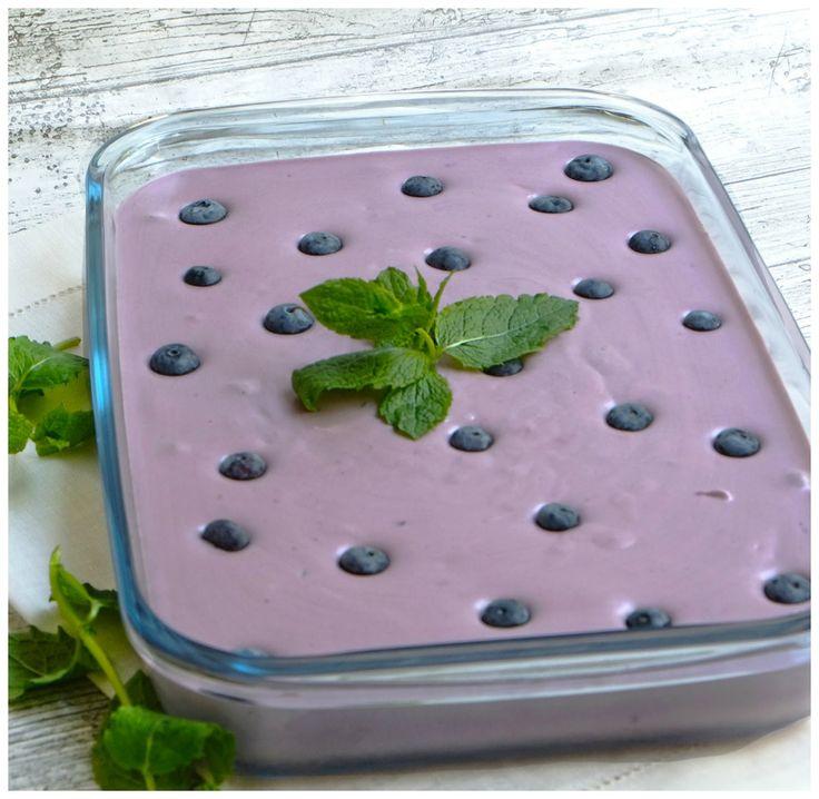 ElsaRblog: Blauwe bessen mousse (Recept uit Portugal)