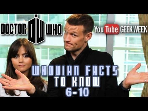 Top 10 Mind-Bending Facts about Doctor Who Part 1