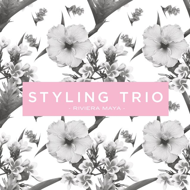 Visit our website to know more about Styling Trio #Hair and #makeupartists #beautifying #brides #airbrushmakeup #rivieramaya www.stylingtrio.com