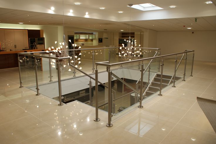 glass #balustrade, showroom, perfect for #commercial #buidlings