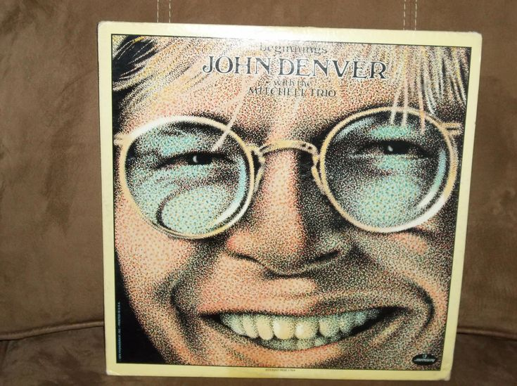 One of the first john denver albums this one has jimmy