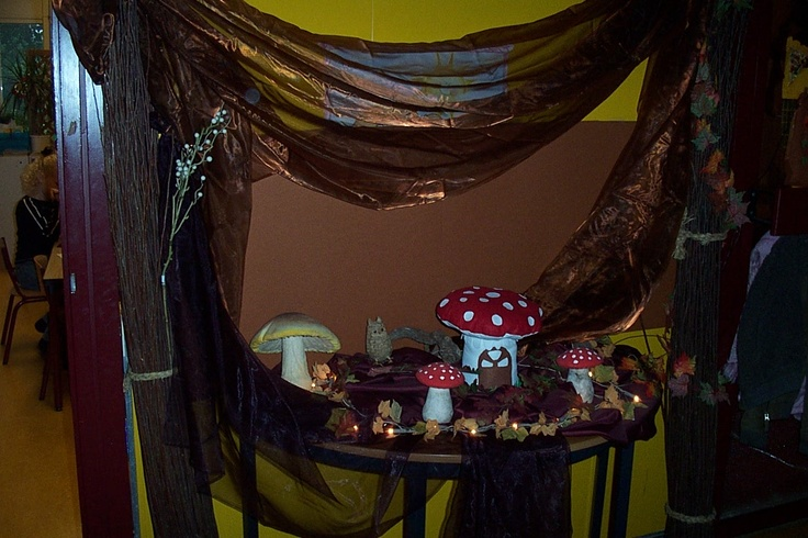 a table for autumn/fall/ thema tafel over de herfst.....