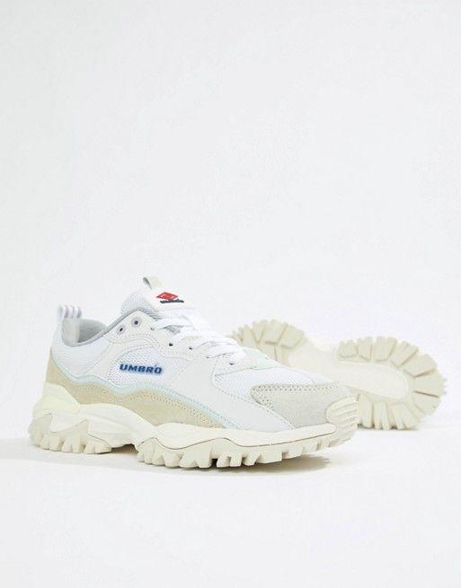 c3bd8a82b0b Umbro Bumpy Sneakers in White