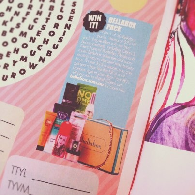 bb is in this month's DOLLY Magazine! Can you find us in the summer quiz mag? Head here to grab a bespoke Dolly bellabox of your very own!