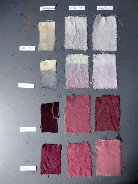 Textile dyed with hibiscus   Flickr - Photo Sharing!