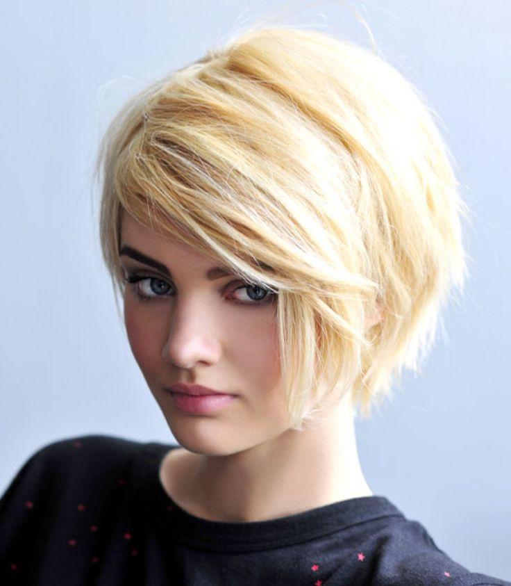Короткая стрижка женская светлые волосы