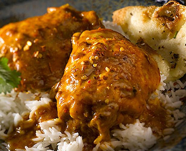 Slow Cooker Curry Peanut Chicken #recipe # VH