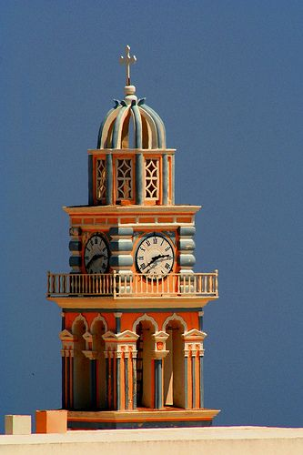 Santorini - Fira - Clock Tower