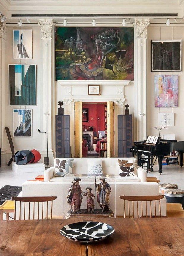 Elite NY Loft Featuring $20 Million Art Collection