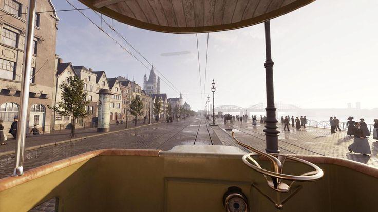Vom alten Köln ist im Zweiten Weltkrieg nicht viel übrig geblieben. Wer in eine Straßenbahn einsteigt, soll die historische Innenstadt nun wieder sehen können. Eine Brille macht es möglich.