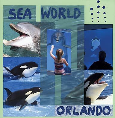 seaworld page ideas