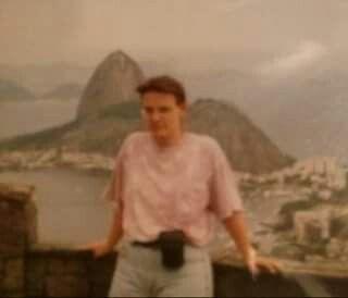 1993 ,im Hintergrund der Zuckerhut