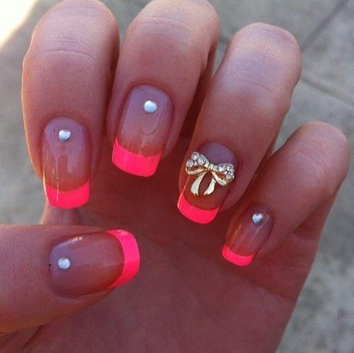 Studded Pink Tips