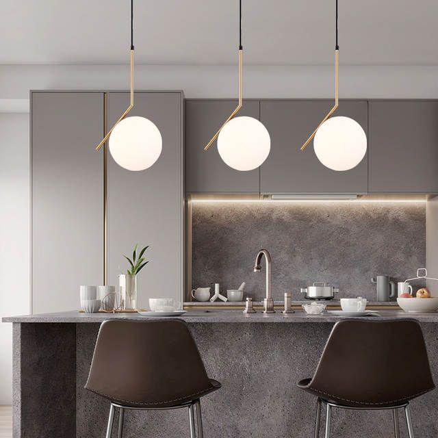 Lámpara colgante minimalista moderna lámpara de techo ...