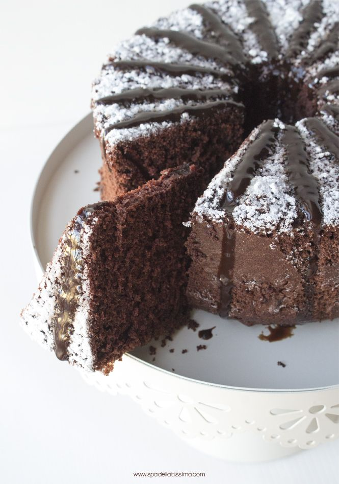 choc cake with chocolate syrup (gluten free)